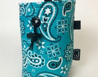 Turquoise Bandana Chalk Bag