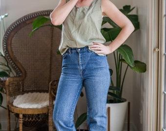 Vintage 27.5 Waist Levi's Jeans | Orange Tab | Super High Rise | Boot Cut