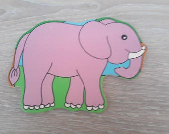 all decoration wooden elephant