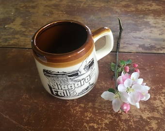 Vintage Niagara Falls Mug