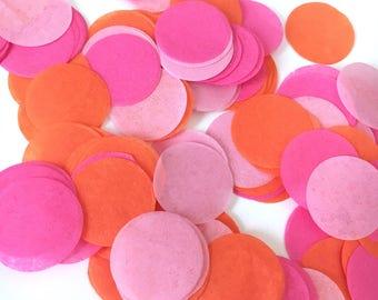 Tissue Confetti - Party Confetti - Birthday Party Decor - Table Decor - Photoshoot Prop - Throw Confetti - Custom Confetti - Circle Confetti