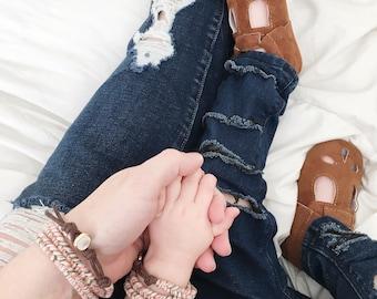 Boho Girl Jewelry, Boho Girl Gift, Mommy Me Sets, Mommy and Me Jewelry, Mom Daughter Jewelry, Mom and Baby Bracelets, Matching Bracelets,