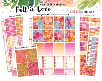 Planner Stickers Printable, Fall Planner Stickers, Printable Planner Stickers for Erin Condren, Printable Stickers, Fall Printable Planner