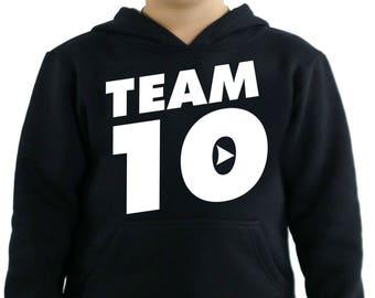 Jake Paul Team 10 its everyday bro Kids Hoodie