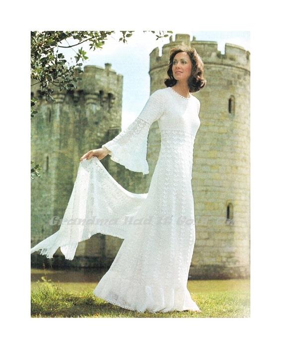 Juliet Angel Wedding Dress Crochet Wrap Stole Angel