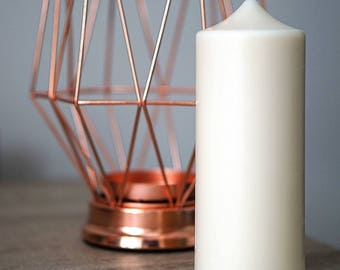 Soy Wax Pillar Candle - Coloured Pillar Candle