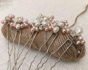 Bridal hair pins, bridesmaid hair pins, bridal pins, hairpins, hair pins, hairpin