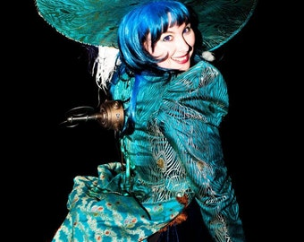 The Steampunk Gin Bustle Costume