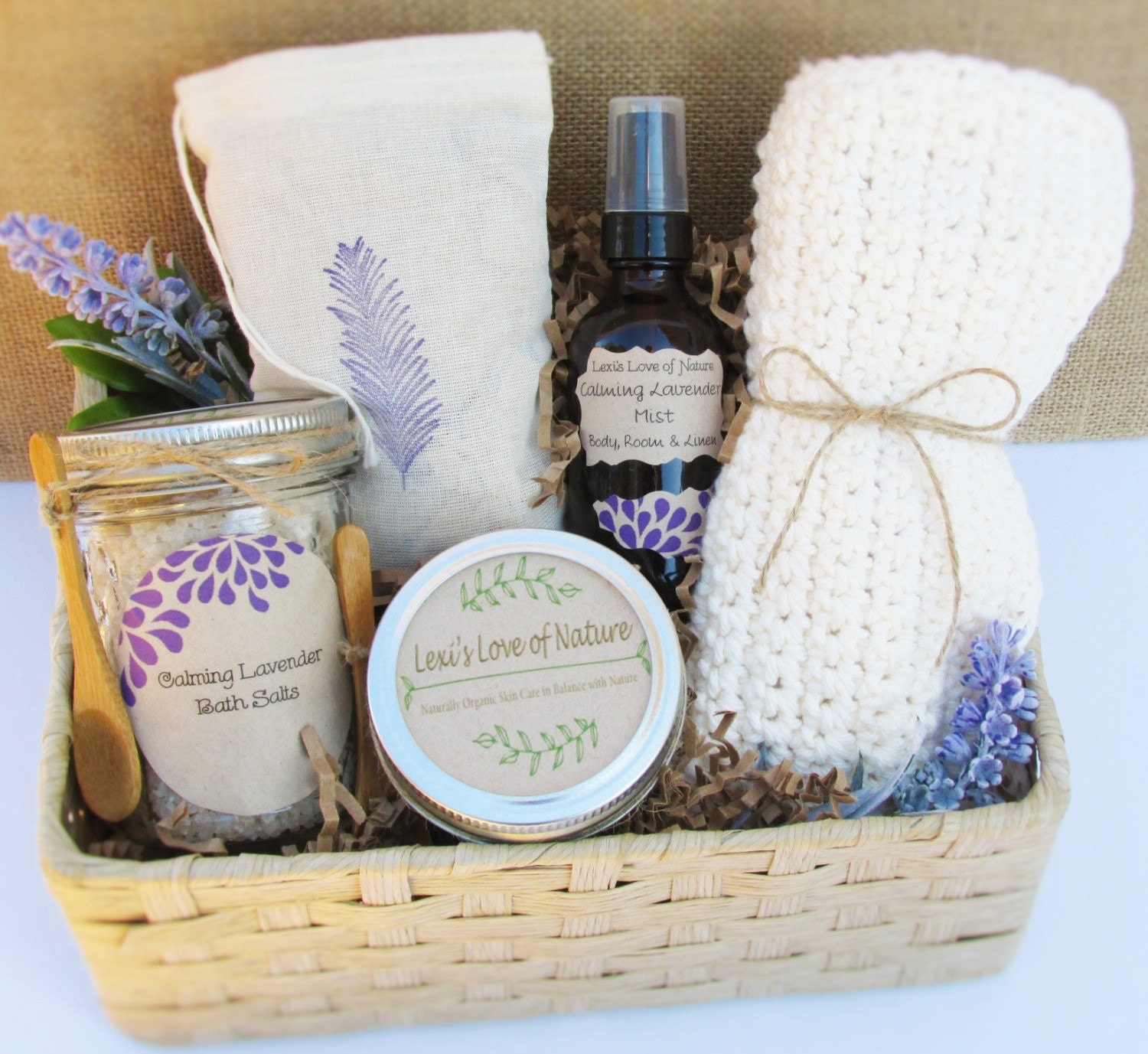 Wedding Gift Ideas For Coworker: Spa Gift Basket Mom Gift Stress Relief Gift Basket Bath