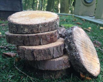 Small Hard Wood Slices