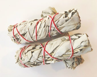 Mini California white sage smudge.bundle.Cleansing . Rituals Incense