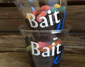 Fishing Party Cups - Gone Fishing Party, Under the Sea Party, Birthday Party, Party Decorations, Party Cups