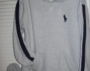 Polo Ralph Lauren Big Pony BOYS  hoodie w matching pants 10 - 12