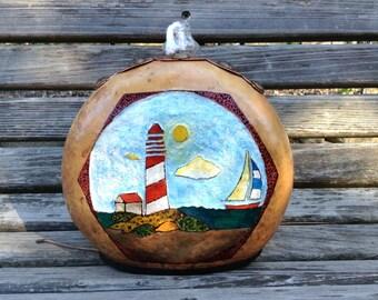 Nautical Gourd Lamp