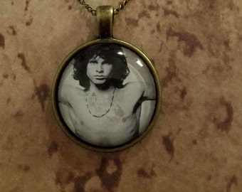 Jim Morrison pendant necklace