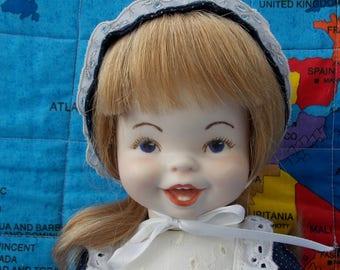 Porcelain doll for adoption - Louise