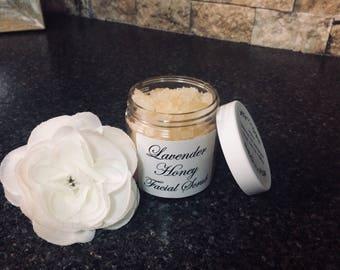 Lavender Honey Facial Scrub natural **BEST SELLER**