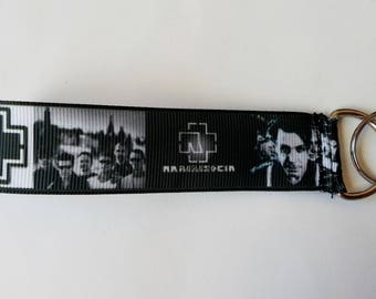 ♥ Key ♥ strap band RAMMSTEIN industrial Metal rock ♥ ♥