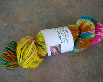 """Hand Dyed Yarn DK MCN """"Marbles"""""""