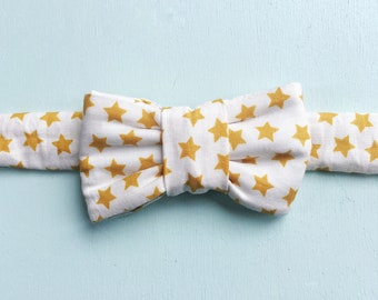 Star Print Bow Tie for Cats