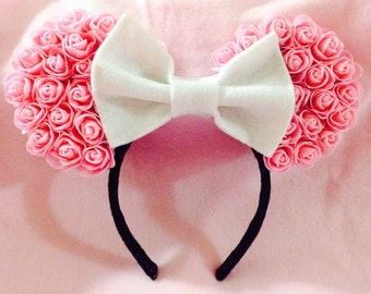 Minnie Mouse Ears (Pink Rose)