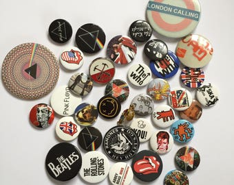Pre-Loved Pin Badges