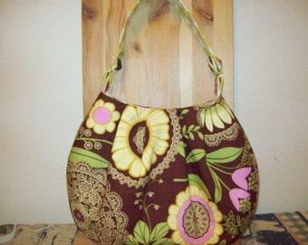Amy Butler lacework bucket bag purse