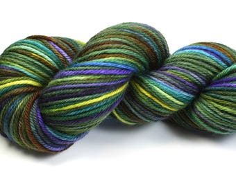 Scenic Route--hand dyed worsted weight, merino superwash (218yds/100gm)