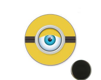 Minion eye - Magnet 32 mm magnet