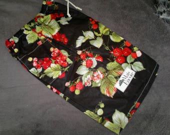 LOVELY Bermuda shorts in cotton - child 8/10 black print