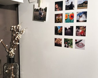 Custom Square Photo Magnets 2x2 Personalized with Your Photos