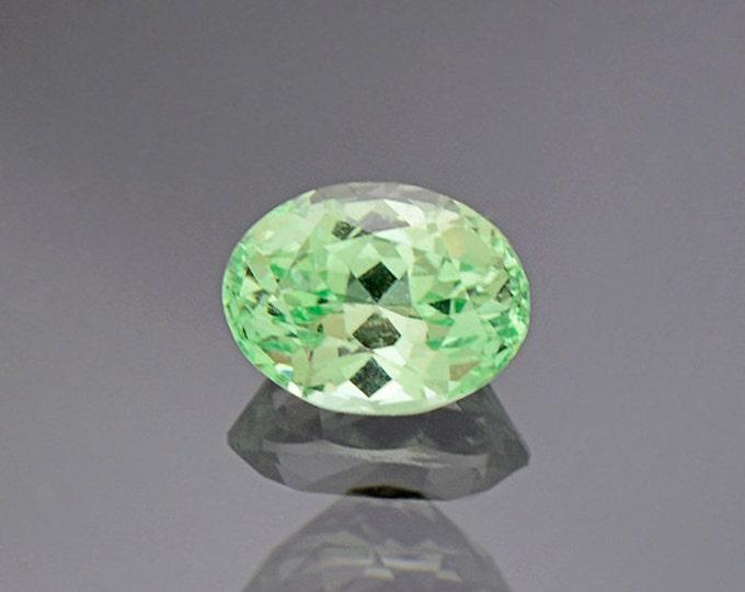 Marvelous Mint Grossular Garnet Gemstone from Tanzania 1.38 cts