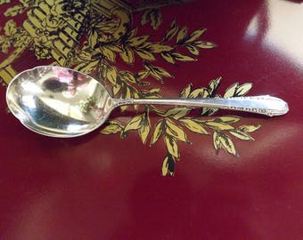 Vintage Sterling Silver Sugar Spoon Enchantress Pattern 1937 by International Silver