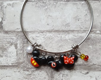 Mickey Mouse Inspired Expandable Bangle