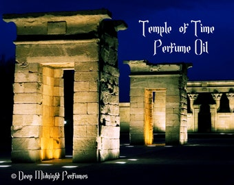 Temple of Time Perfume Oil - Chypre Accord, Frankincense, Resins, Cardamom - Fantasy Perfume - Ancient Perfume
