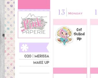 020 | Merissa Make Up | Mermaid Stickers
