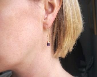 """Periwinkle"" Earrings"