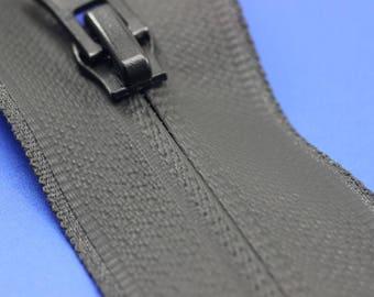 Waterproof Black Zippers, 65 cm, (25inches) zipper, Waterproof zipper, Water Resistant zipper, Jacket Zipper, Raincoats zipper, WRBZ