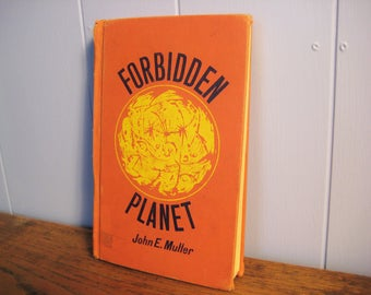 RARE Forbidden Planet Vintage Book, 1965, John E. Muller, Science Fiction