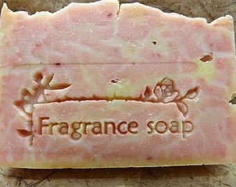 Fragrance soap stamp