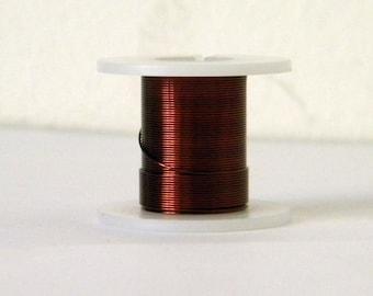 1 spool of 0.4 mm - copper wire - metal wire - H21 Brown copper wire (3 M)