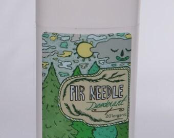201organic VEGAN Fir Needle  Organic Deodorant 2.5 oz