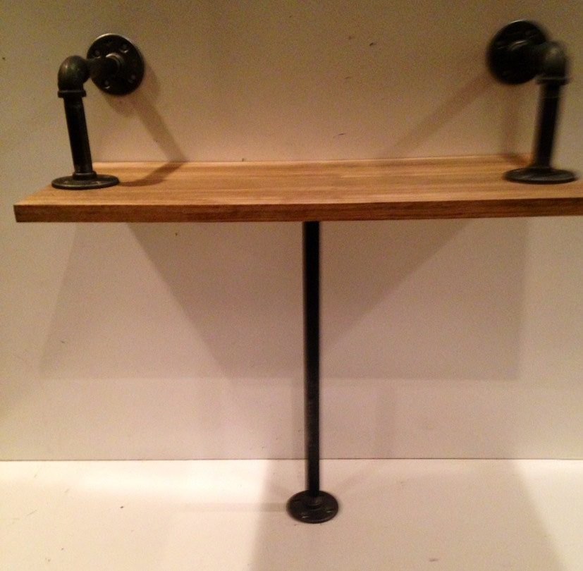 1 & Industrial Rustic Urban Iron Pipe Bench made (pick your own stain ...