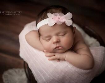 Flower headband, baby girls hair accessories, head band, girls accessories, toddler headband, newborn headband, photo prop, photography