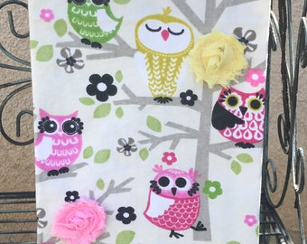 Owls Everywhere Kitchen Towel