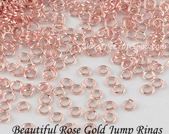 Rose gold findings Etsy