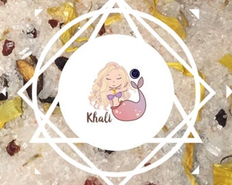 MoonSalt: Fragranced Bath Salt with Selenite Khali