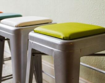 Square Stool Cushion for Metal Stools (Tolix, Tabouret, OSP, Bristol, Carlisle, Viktor)