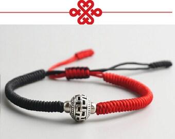 Tibetan Buddhist Handmade Knots LUCKY Ball Prayer Bead Lucky Charm