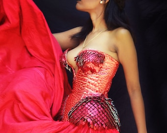 Dragon Scalemail Corset
